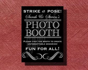 Printable Wedding Photo Booth Sign DIY