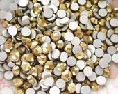 94 pcs - Gold SS16 High Quality Flatback Rhinestones Deco (4mm) RH20016 (((LAST)))