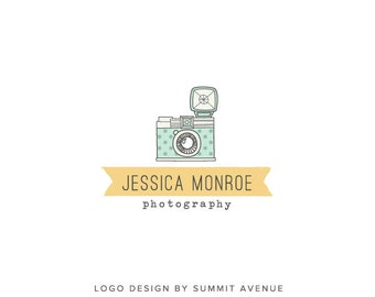 Custom PreDesigned / pre-made Camera Photography Logo by summit avenue