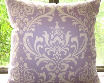 Ozborne Wisteria/ lavender pillow cover 24 X 24