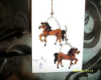 Horse Earings Bays