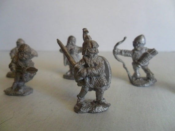 Dungeons And Dragons Pewter Figurines Instant By Gtdesigns