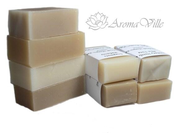 Set of 3 assorted handmade shampoo samples