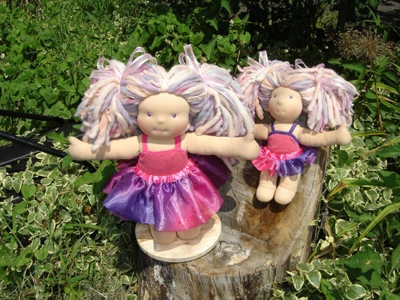 Waldorf Doll - 2 Girl Ballerina Dolls RESERVED for Amy