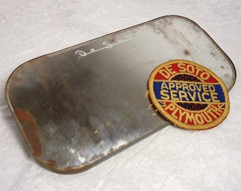 Classic DeSoto Collectibles - Uniform Patch and Visor Mirror