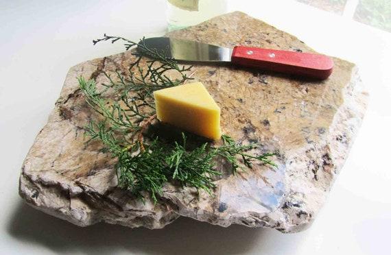 Warm Wood Granite Cheese Board