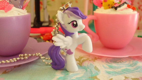 SALE My Little Pony Sugar Grape Assembled Kawaii Necklace or cell phone charm you choose