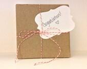 Gift Wrapping Kit, Birthday, Christmas, Wedding, Favors, Bridesmaid, Gift Packaging