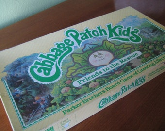 1984 Cabbage Patch Kids Board Game
