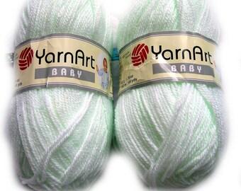Baby Yarn - YarnArt Baby. Light Green