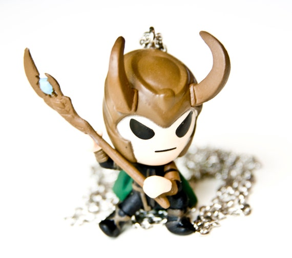 Loki God of Mischief Avengers Necklace