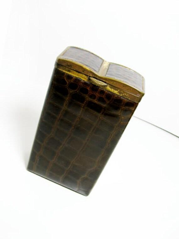 vintage cigarette case princess gardner porte by mychouchou. Black Bedroom Furniture Sets. Home Design Ideas
