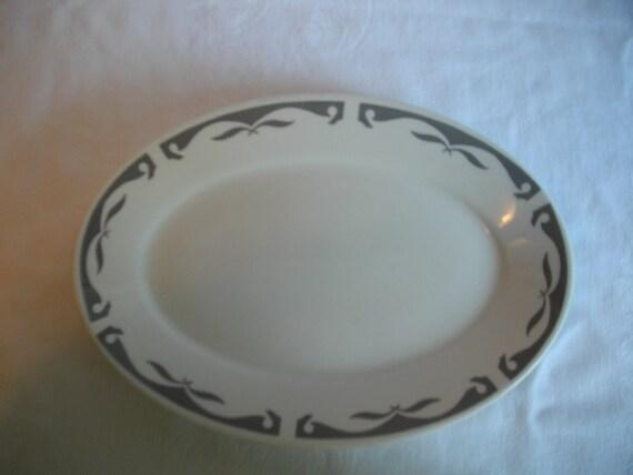 Best China Vintage Cottage Chic Resturant Serving Platter