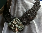 RESERVED for Mandersbelle Victorian Lace Choker