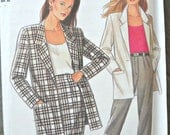 New Look 6208, Women's Jacket, Skirt, and Trousers Pattern, Sizes 12 through 24