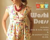 Made by Rae Washi Dress and Tunic Women's Pattern - KlothShoppe