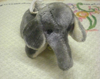Saw Dust Stuffed Elephant