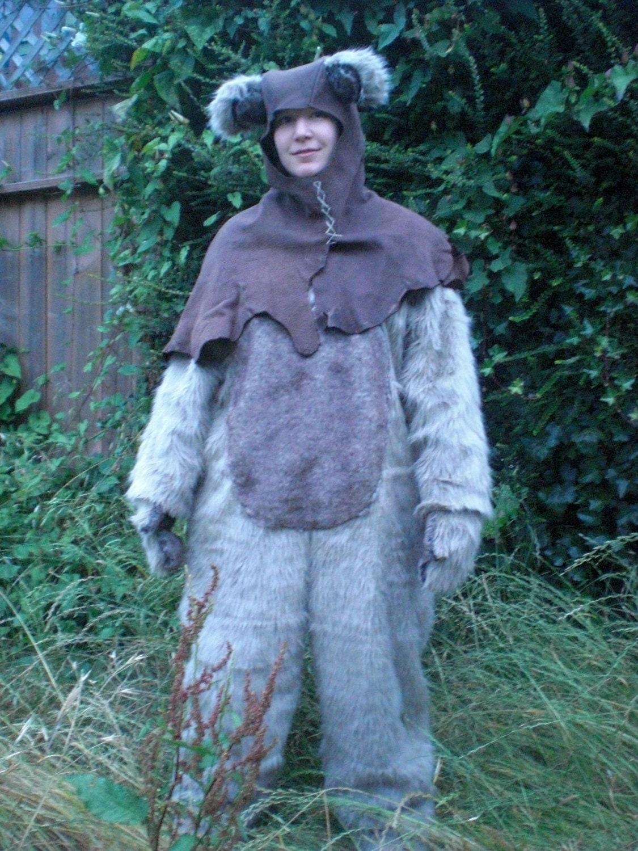 sale adult ewok costume s m. Black Bedroom Furniture Sets. Home Design Ideas