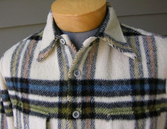Vintage 1950 S Men S Mcgregor Flannel Shirt Shaggy By