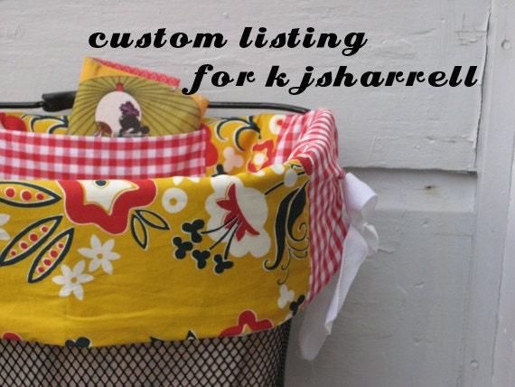 Custom Basket Liner for kjsharrell