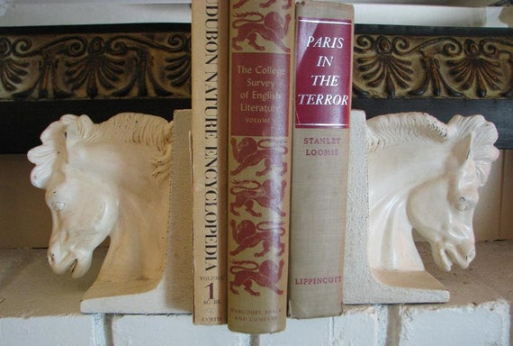 Reserved for Belle - Horse Bookends