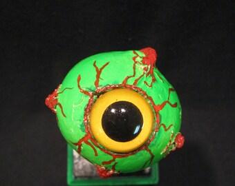 Holiday Gift, Zombie Eye, Creepy Decor, Halloween,
