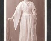 100 year old Social History Postcard British Edwardian period dress fashion antique vintage postcards