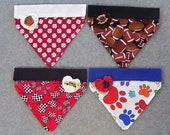 Fashion Love Bandana, XS, SM, Sports, You choose fabric, Personalization Available