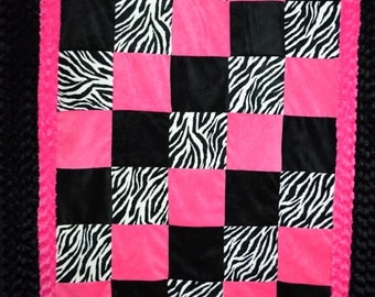 Jumbo Size Minky Throw