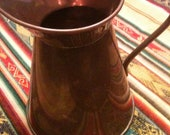 Copper an Brass vintage  Pitcher from Holland