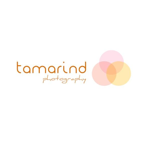 Logo design - customizable Pre-made modern logo design - orange pink yellow