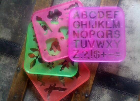 Vintage Tupperware Stencils