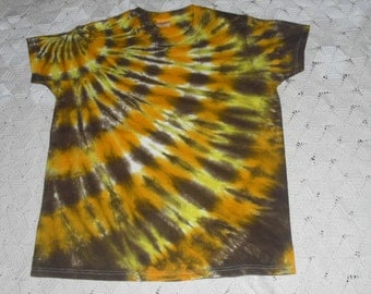 Tie dye shirt, women's medium- INSTANT HALLOWEEN costume, cheetah, giraffe, calico cat, leopard-  Other sizes available, too- 350