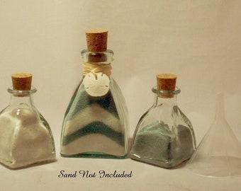 "Personalized Unity Sand Ceremony ""Diamond"" style-Sand Dollar Charm"