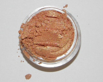 ADRIENNE Eye Shadow Organic Minerals Golden Peach Vegan All Natural Hand Crafted Eyes Lips Nails