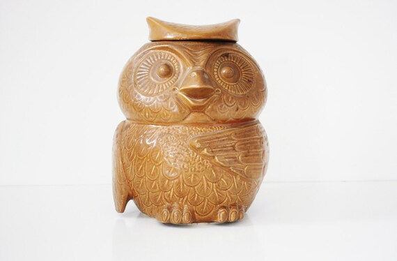 McCoy Owl Cookie Jar - Circa 1970s