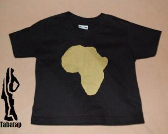 Black Baby africa tee