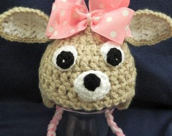 Clarice Reindeer Hat