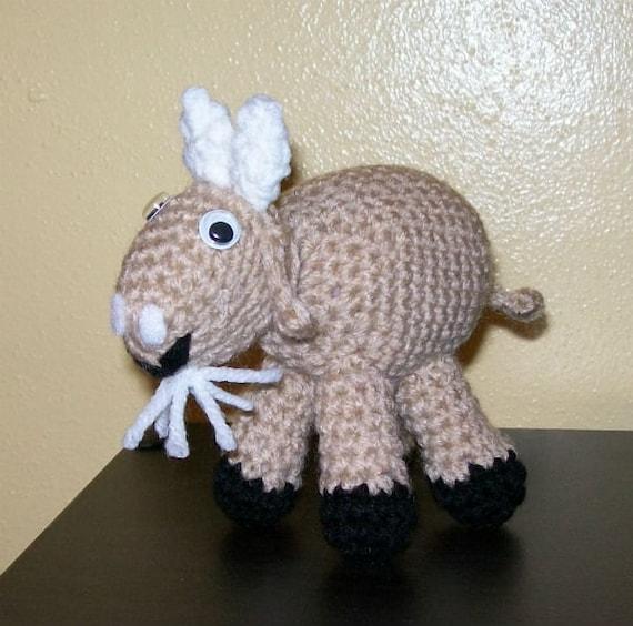 Little Billy Goat - Stuffed Animal - Amigurumi