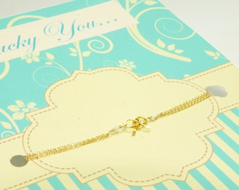 Will You Be My Bridesmaid/Tiffany Inspired Bow/Tiffany Inspired Bracelet/Lillyput Lane Design Company Sample Sale