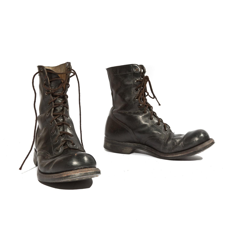 1966 Vintage Combat Boots by Endicott Johnson Vietnam Era