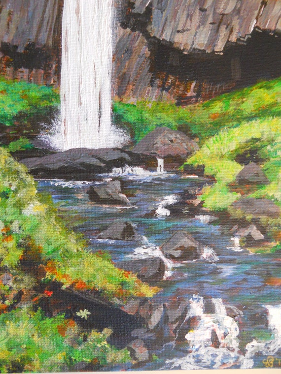 Latourell Falls, Columbia River Gorge Original Landscape