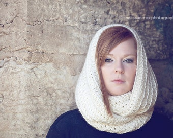 Ladies Extra Large Cowl Neck Crochet