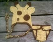 Baby Giraffe Photography Set