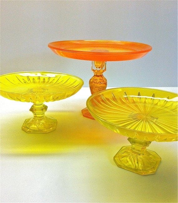 One Bright and Fun Cupcake Stand in Yellow