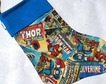 Marvel Comics Super Hero Christmas Stocking