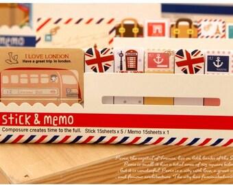 Stick & memo - London Bus