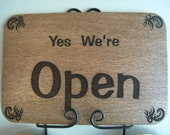 Double sided Open / Closed Sign