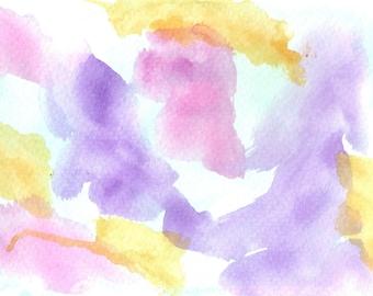 """Original Painting - Original Watercolor Painting - 5"""" x 7"""""""