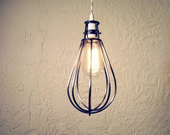 WHISK cage pendant lamp  industrial light modern pendant with Edison bulb trouble light